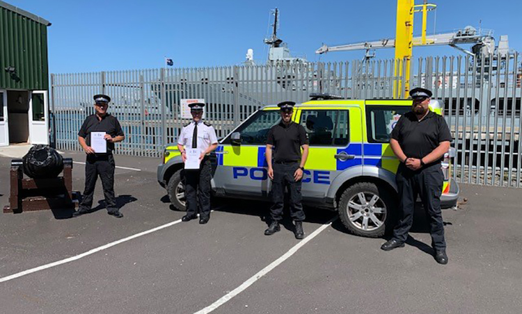 Dorset Police pilot partnership with Portland Port Police