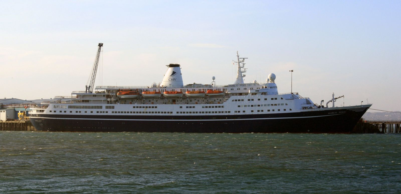 Surprise Visitor Starts Portland Port's Cruise Season Early