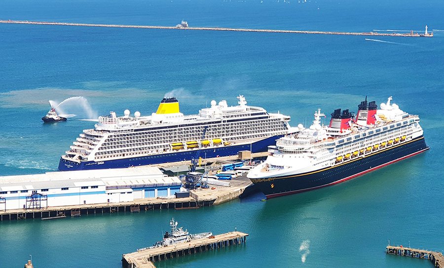PORTLAND PORT'S 2020 CRUISE SEASON WILL BEING 80,000 PASSENGERS TO DORSET