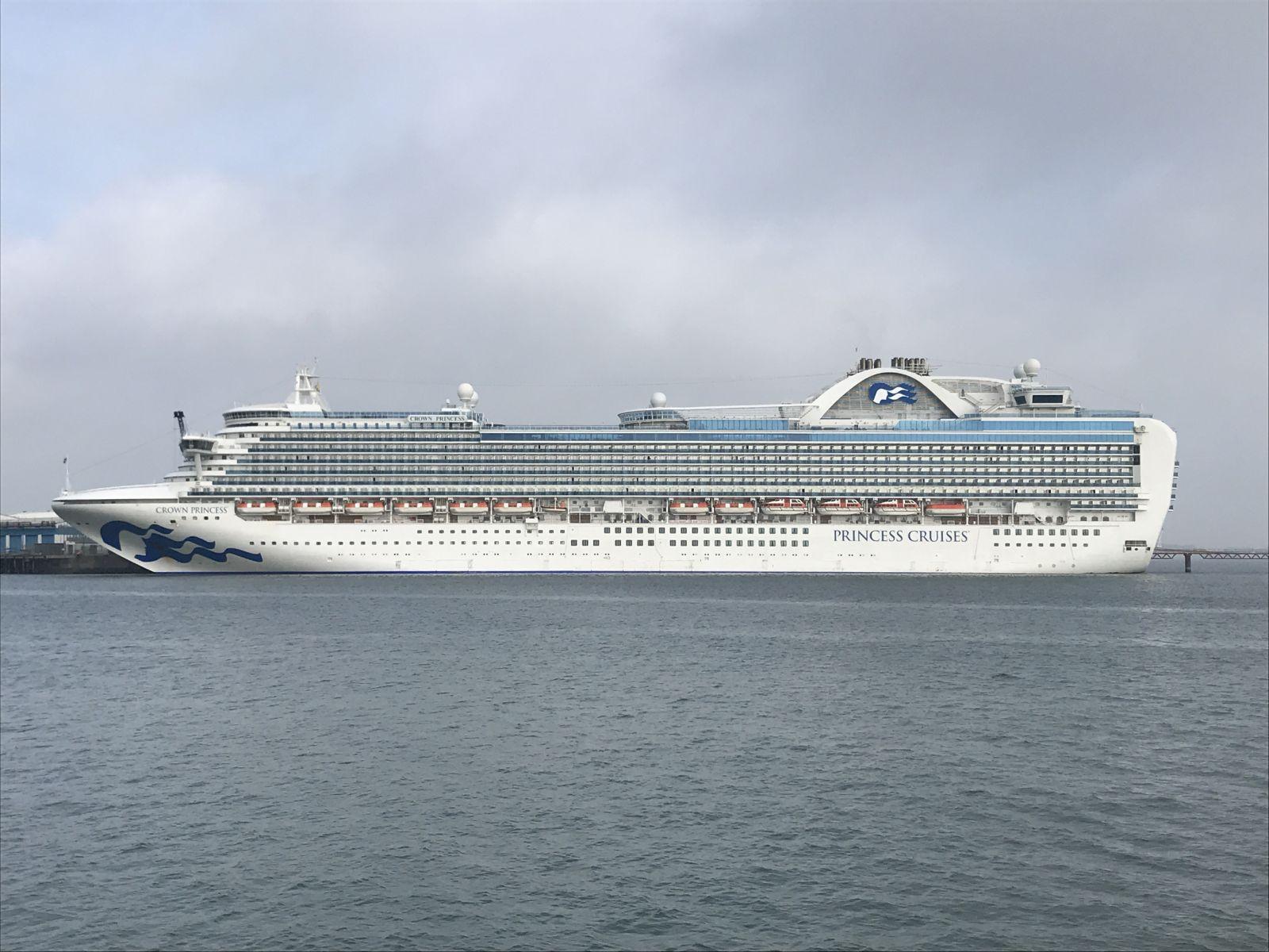 Portland Port welcome a Princess