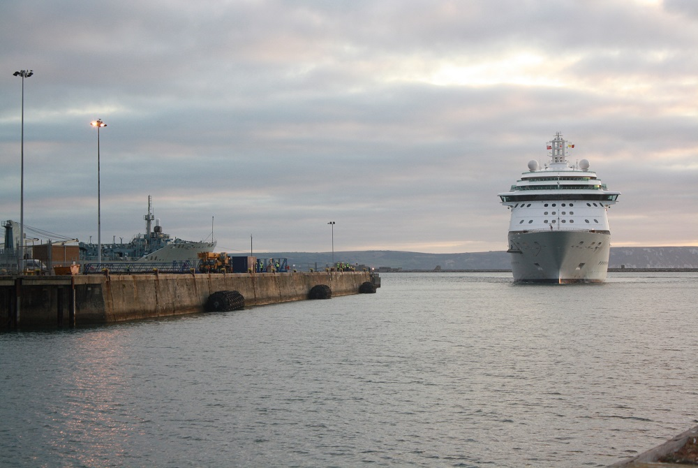 Portland Port announce cruise berth extension plans